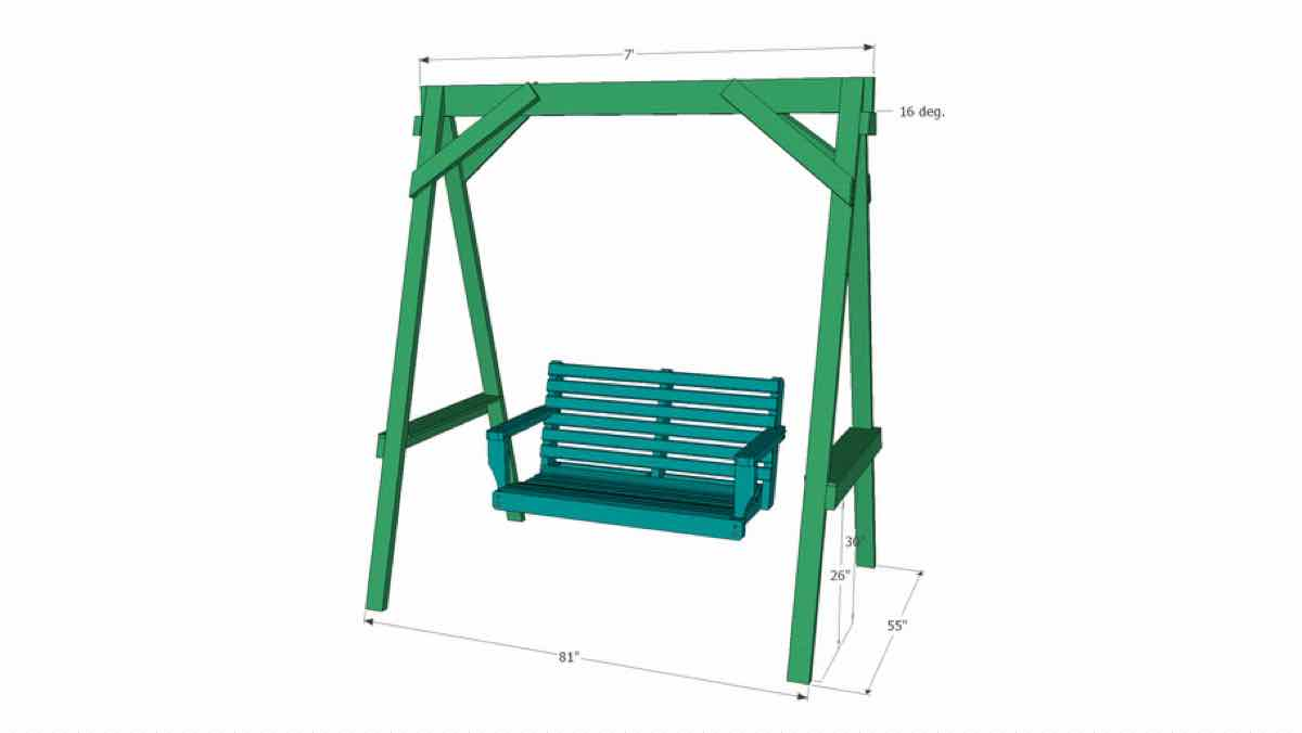 swings,sketchup,Google 3D,outdoors,yard swings,3-D warehouse,furniture,drawings,free woodworking plans,projects,do it yourself,woodworkers