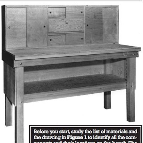 Build a Reloading Bench using free plans.