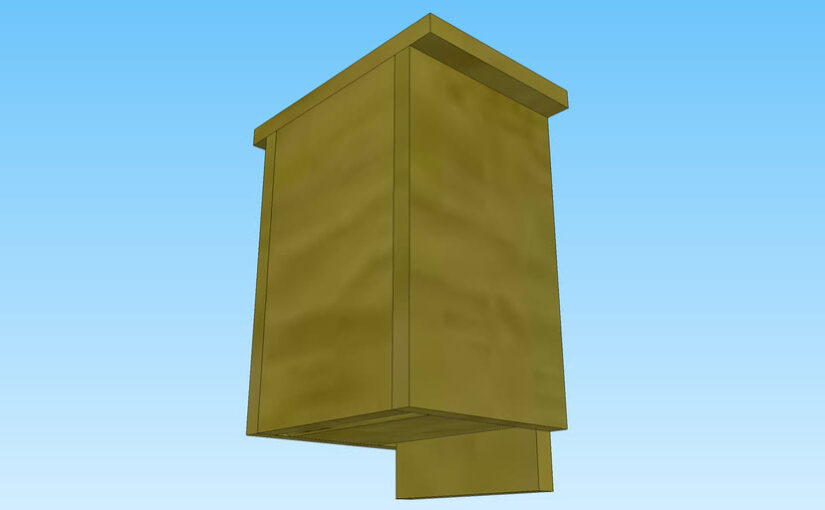 Google SketchUp Bat House Project.