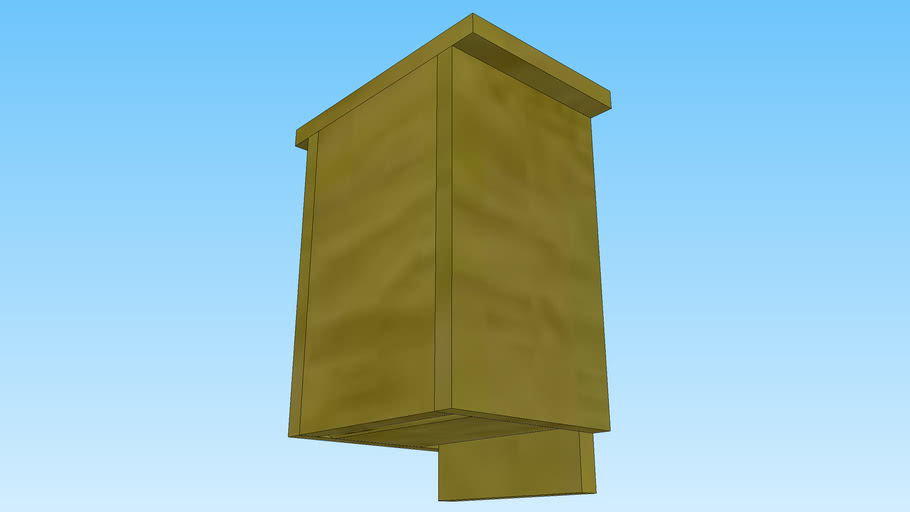 Google SketchUp Bat House Project.
