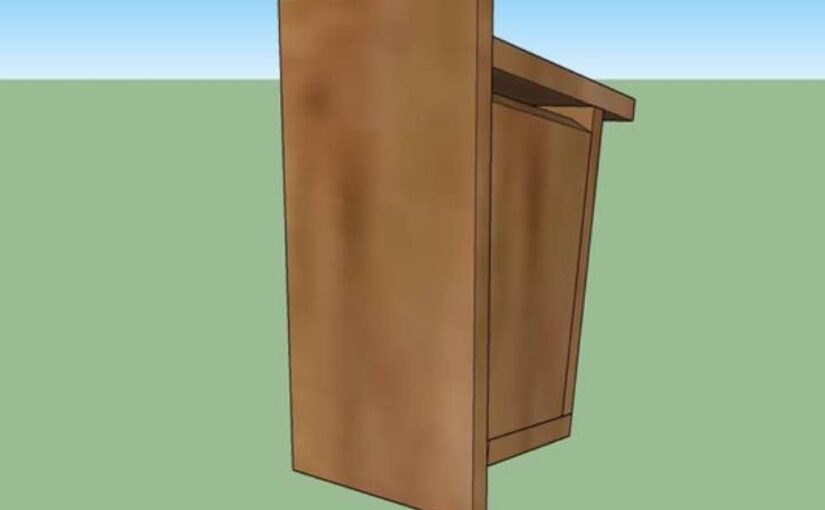 Free plans to build a Birdhouse.