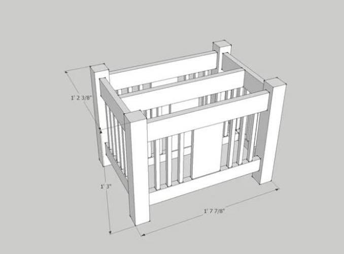 Build a Craftsman Style Magazine Rack.