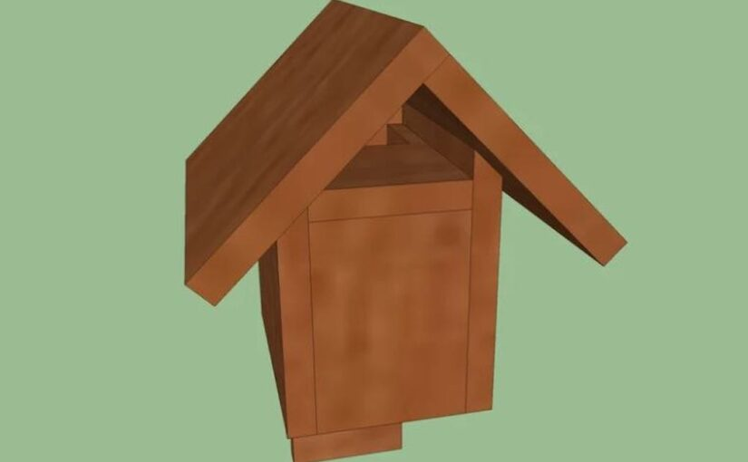 Open Gable Nest Box