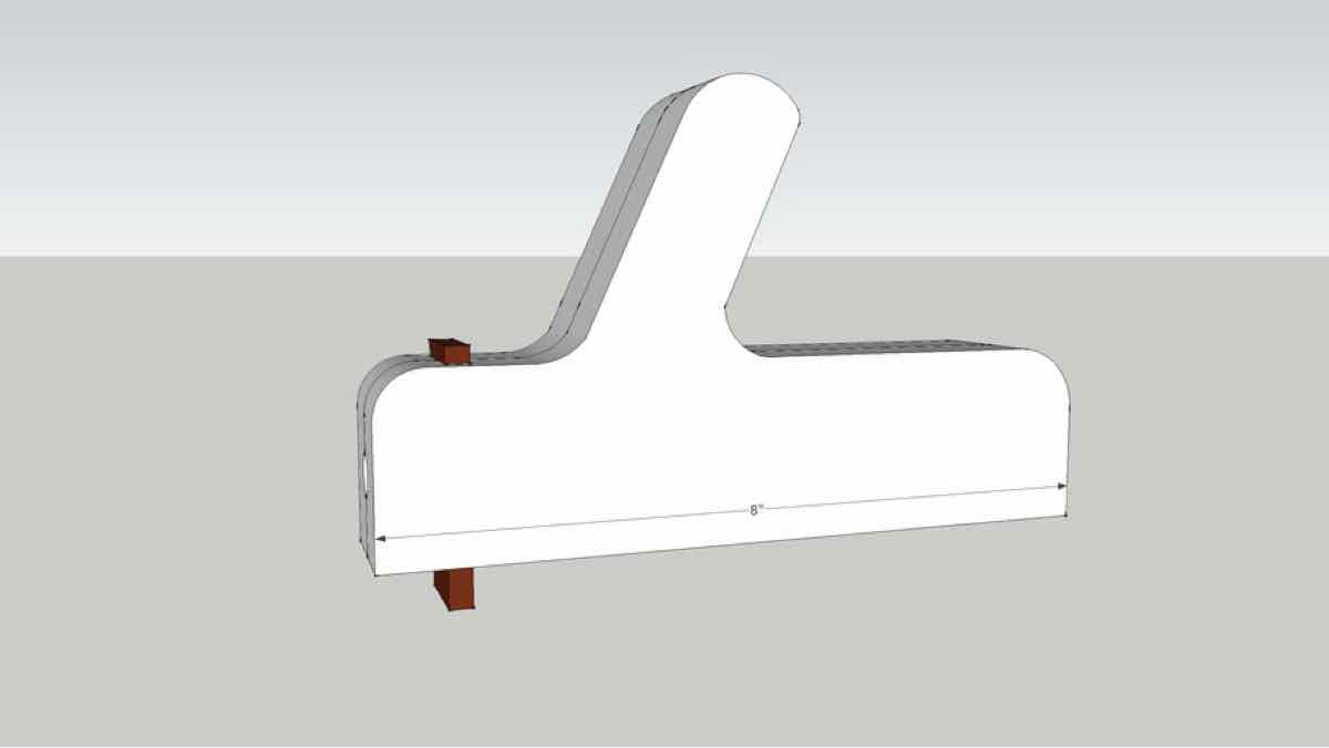 tablesaw jigs,pushsticks,sketchup,Google 3D,3-D warehouse,free woodworking plans,workshop projects