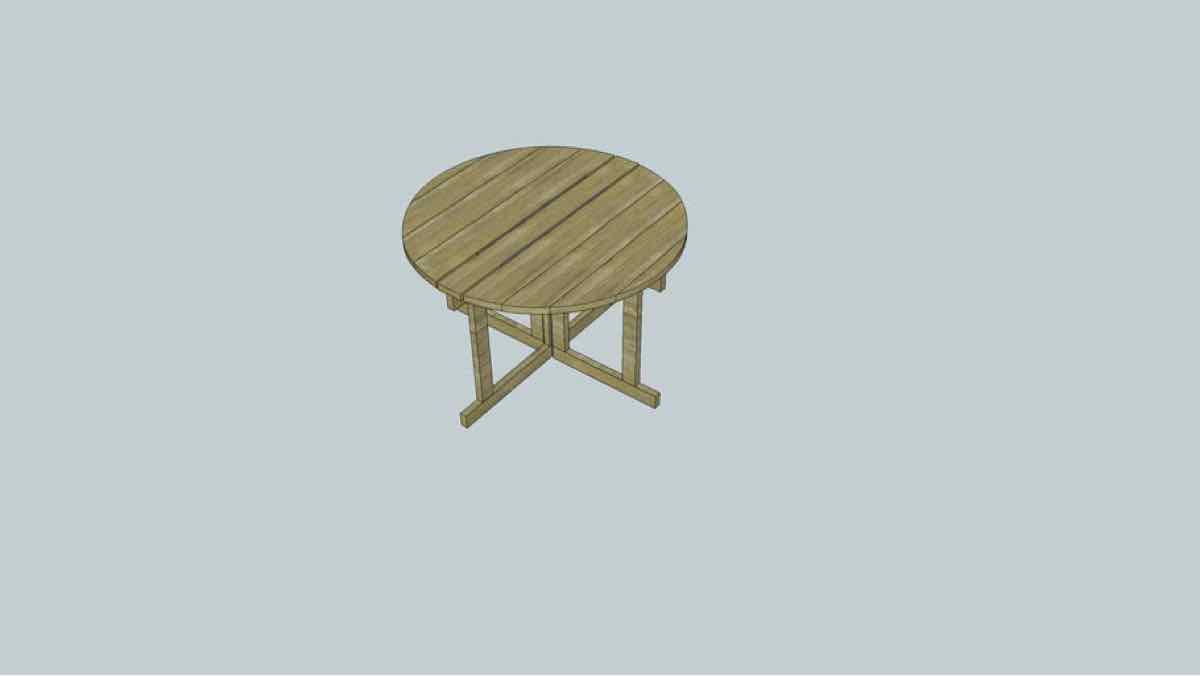 tables,furniture,sketchup,Google 3D,3-D warehouse,drop leaf,drawings,free woodworking plans,projects,do it yourself,woodworkers