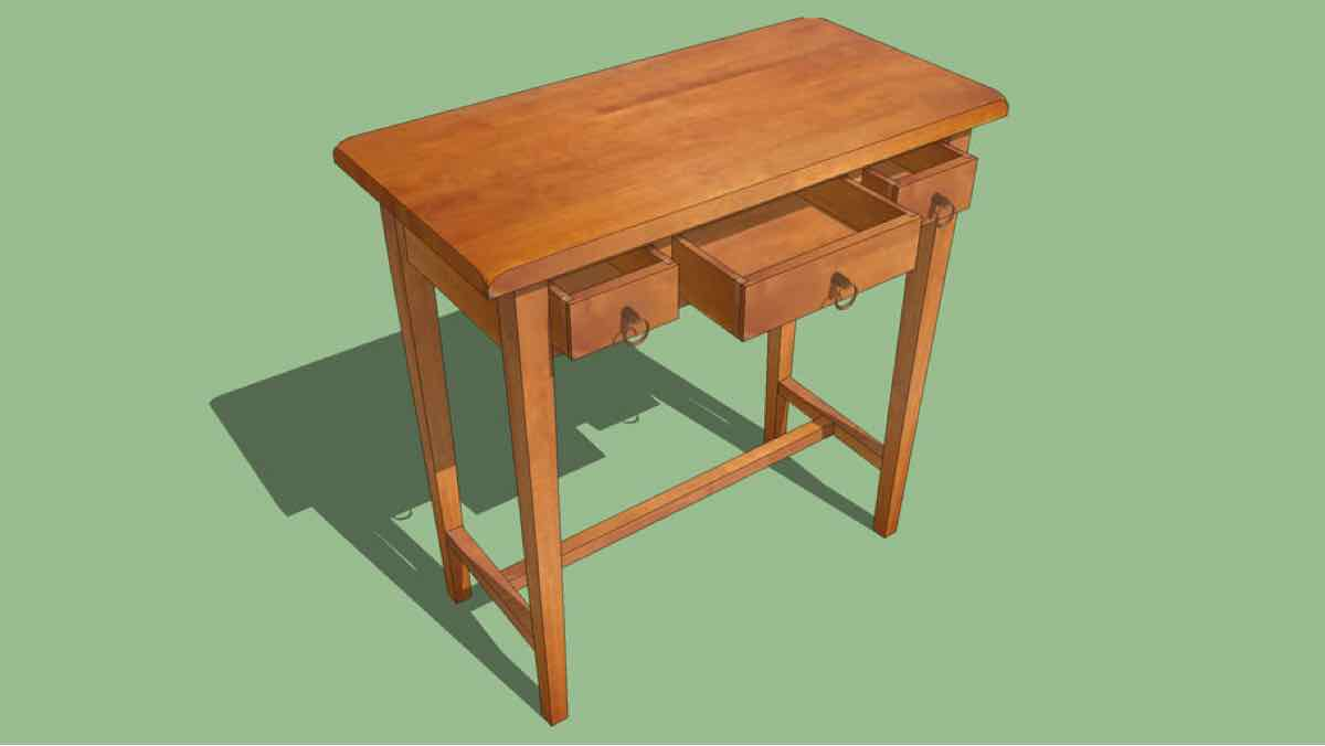 tables,furniture,sketchup,Google 3D,3-D warehouse,storage,drawers,drawings,free woodworking plans,projects,do it yourself,woodworkers