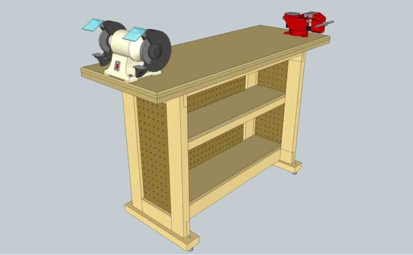 Sturdy Tool Stand