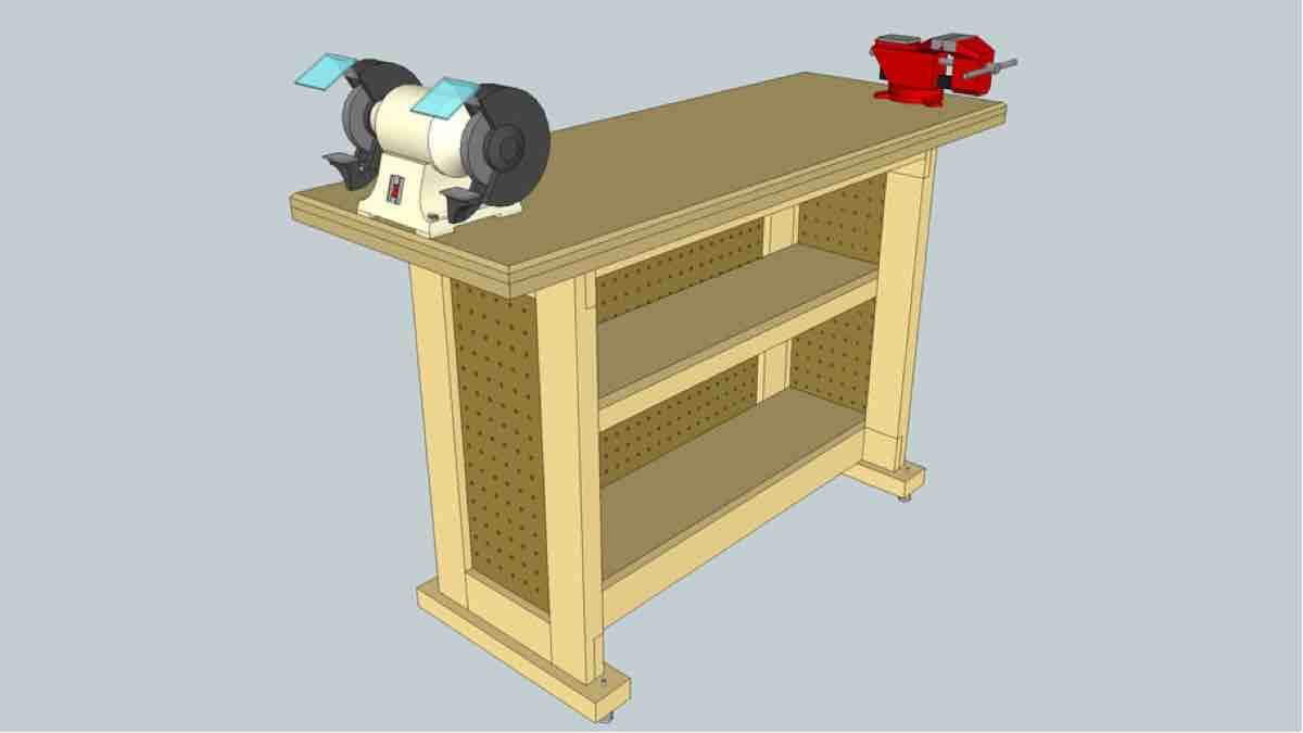How to build Sturdy Tool Stand