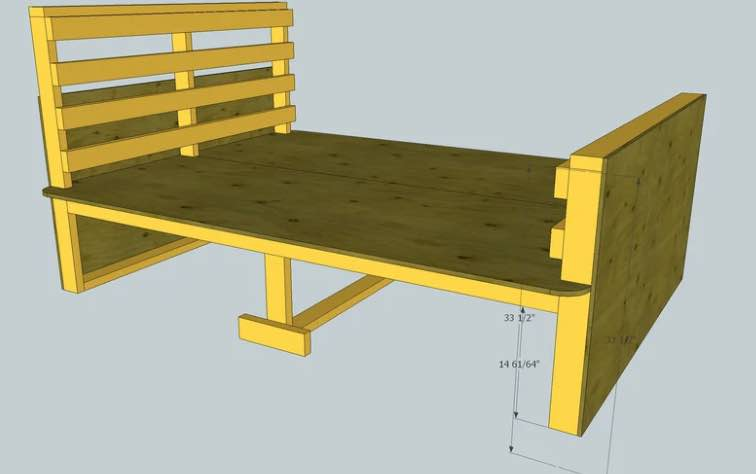 Build an Ultimate Sturdy Bed.
