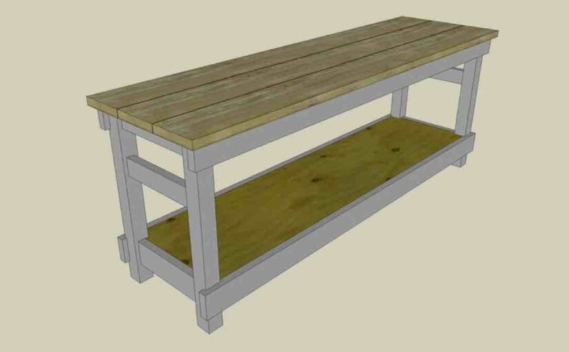 How to build a Workbench using SketchUp.