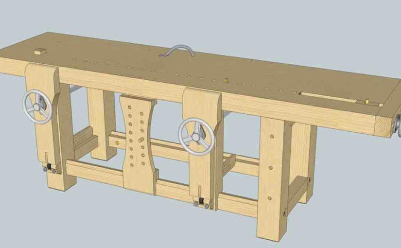 Roubo Inspired Workbench