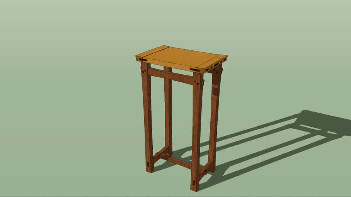 stools,arts and crafts,sketchup,Google 3D,3-D warehouse,furniture,drawings,free woodworking plans,projects,do it yourself,woodworkers