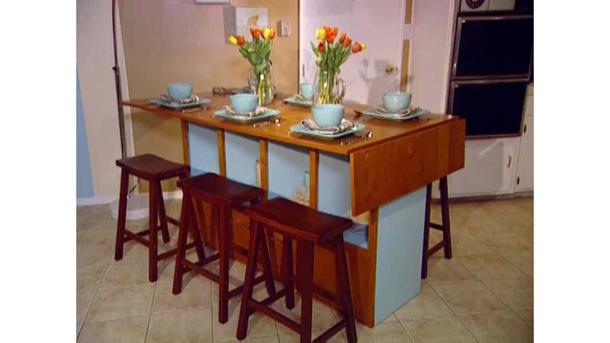 bar height,dining table,furniture,free woodworking plans,storage,drop leaf,projects,do it yourself,woodworkers