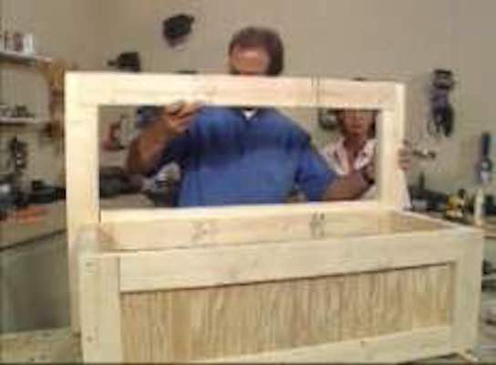 Build a Toy Box Bench with free plans.