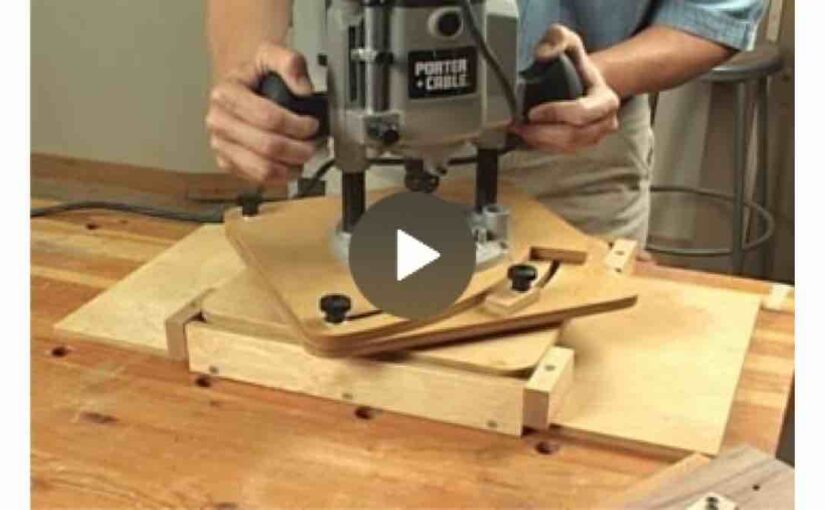 Router Circle Jig Video