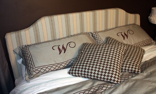How to build a Upholstered Headboard free project.