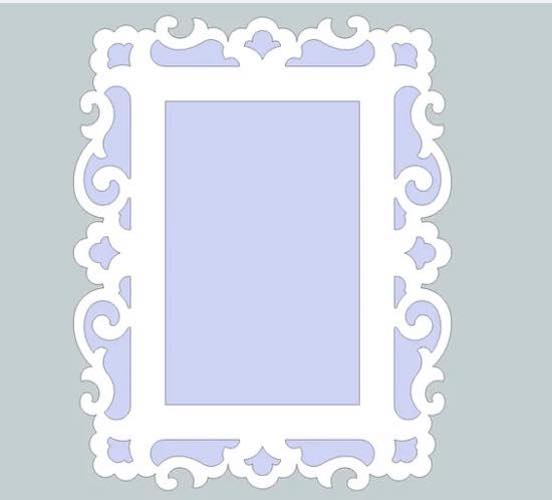 Free Picture Frame sketch up.