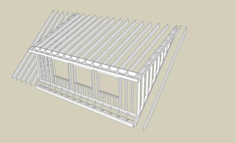 Shed Dormer Structure
