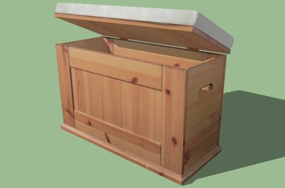 Build a Storage Bench.