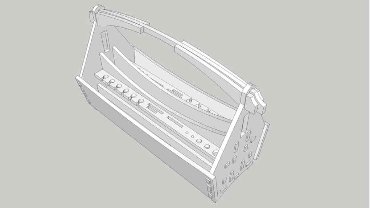 Free Toolbox 3D Puzzle SketchUp Model