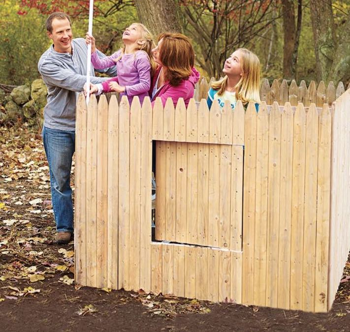 Free plans to build a Fort.