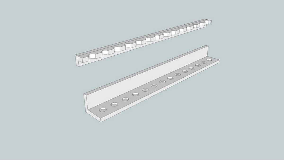 tool racks,lathes,woodturning,sketchup,Google 3D,3-D warehouse,wood turning,wall mounted,drawings,free woodworking plans,projects,do it yourself,woodworkers
