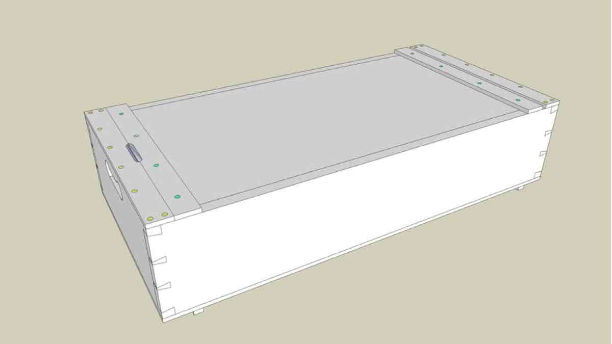 Build a Japanese Tool Box with SketchUp