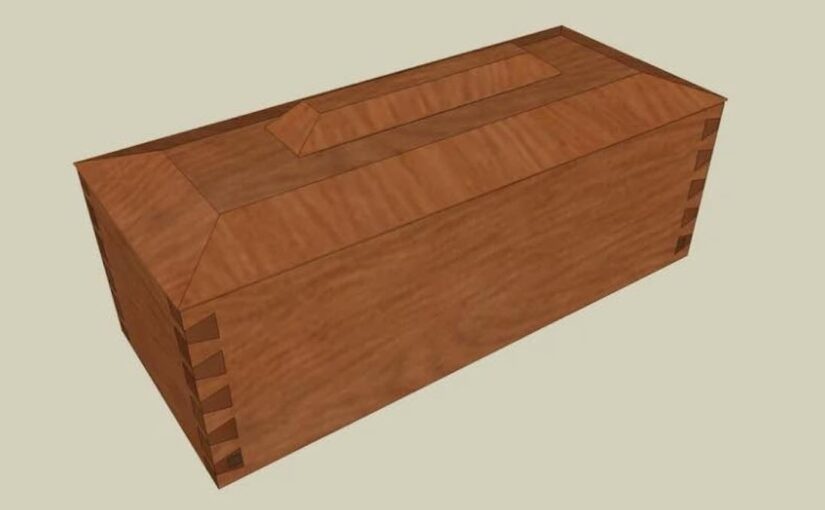 Dovetail Shaker Candle Box
