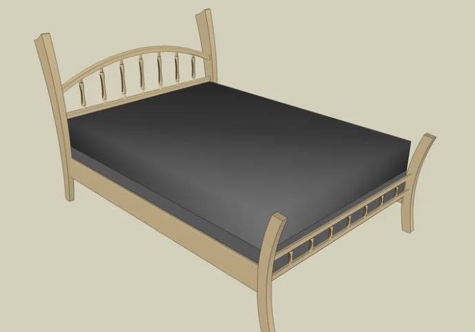 Build a Double or Full Size Bed.