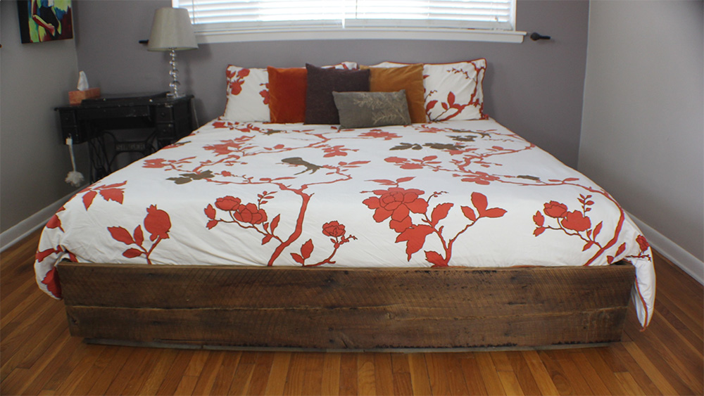 Build a King Size Bed with Storage.