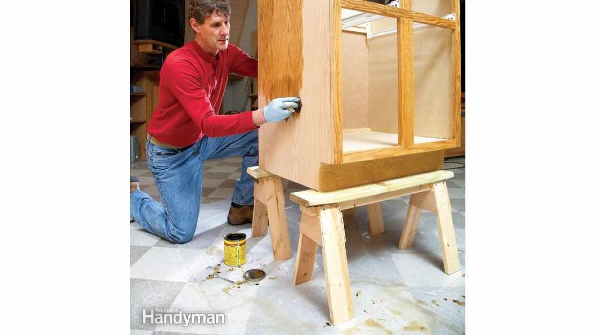 Build Small Sawhorses with these free woodworking plans.