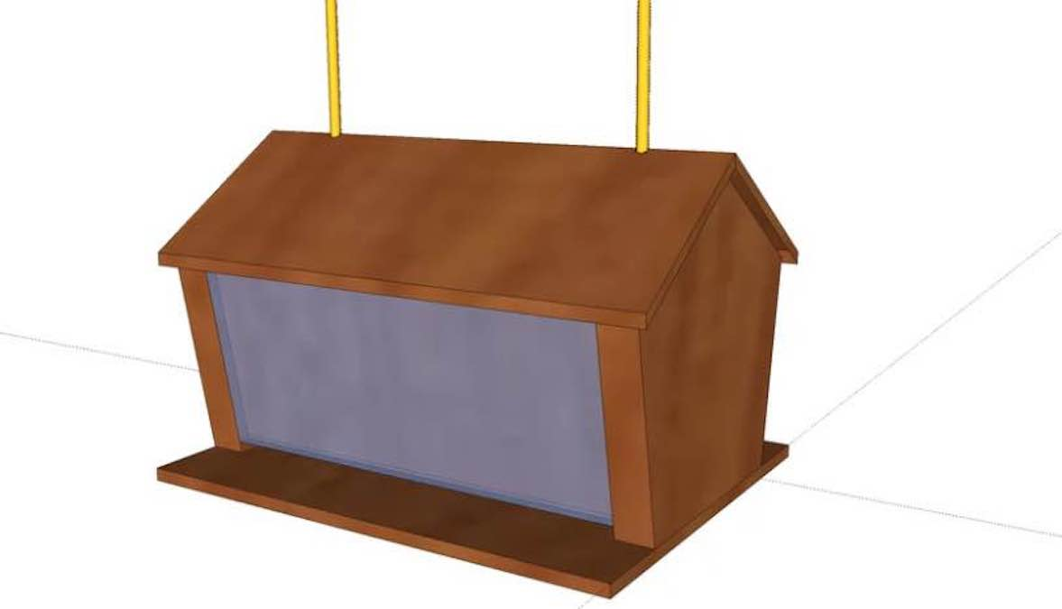 Free plans to build your own Bird Feeder.