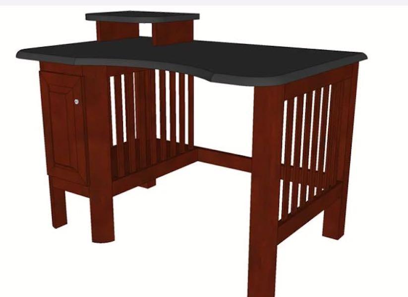 Build a Desk for Children using free plans.