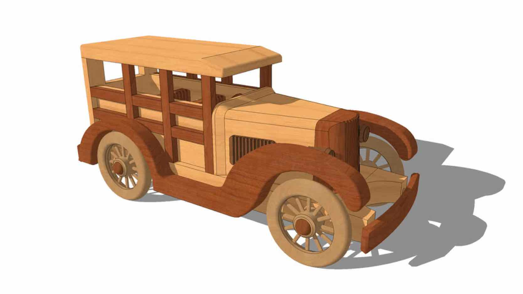 models,toys,antique cars,sketchup,Google 3D,3-D warehouse,childrens,drawings,free woodworking plans,projects,do it yourself,woodworkers