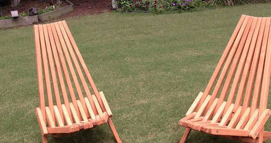 Free plans to build a Kentucky Stick Chair.
