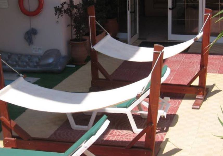 Free plans to build a Hammock Stand.