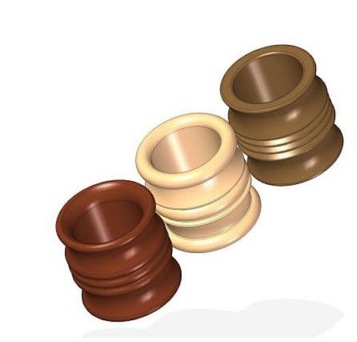 Learn to turn Napkin Rings on the lathe.