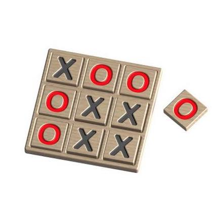 Free plans to build a Tic Tac Toe Game.