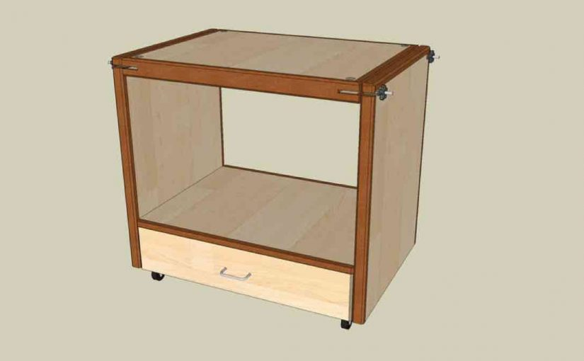 Swivel Topped Tool Cabinet