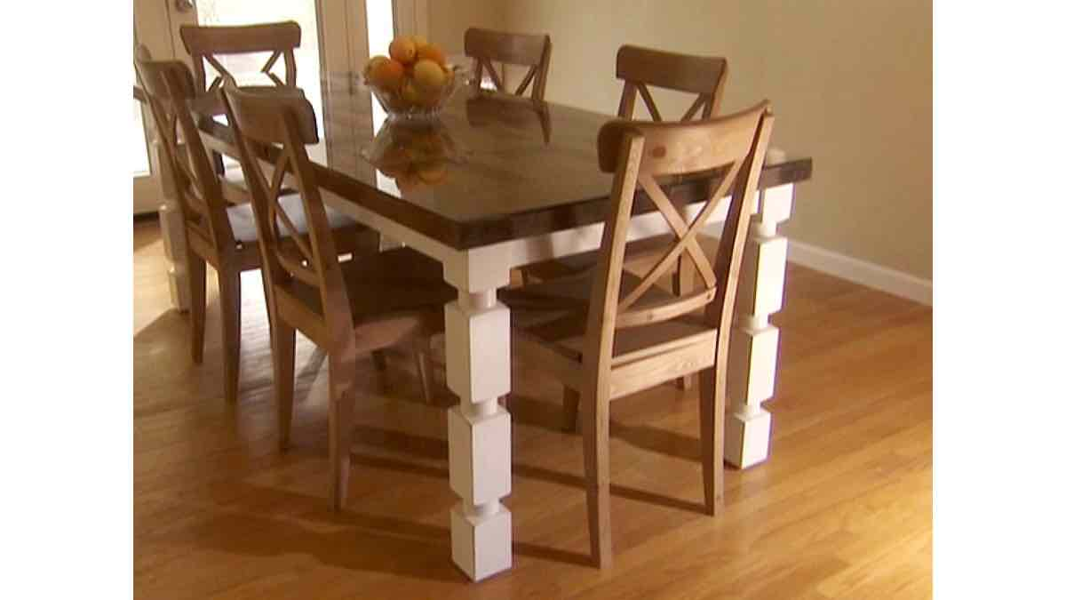 dining tables,recycled doors,furniture,free woodworking plans,projects,do it yourself,woodworkers