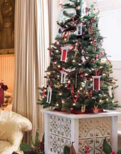 Build a Christmas Tree Box using free plans.