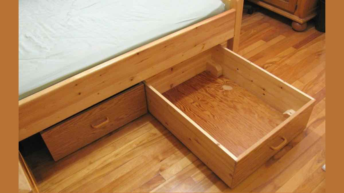 storage,under bed storage,drawers,bedrooms,free woodworking plans,projects,do it yourself,woodworkers