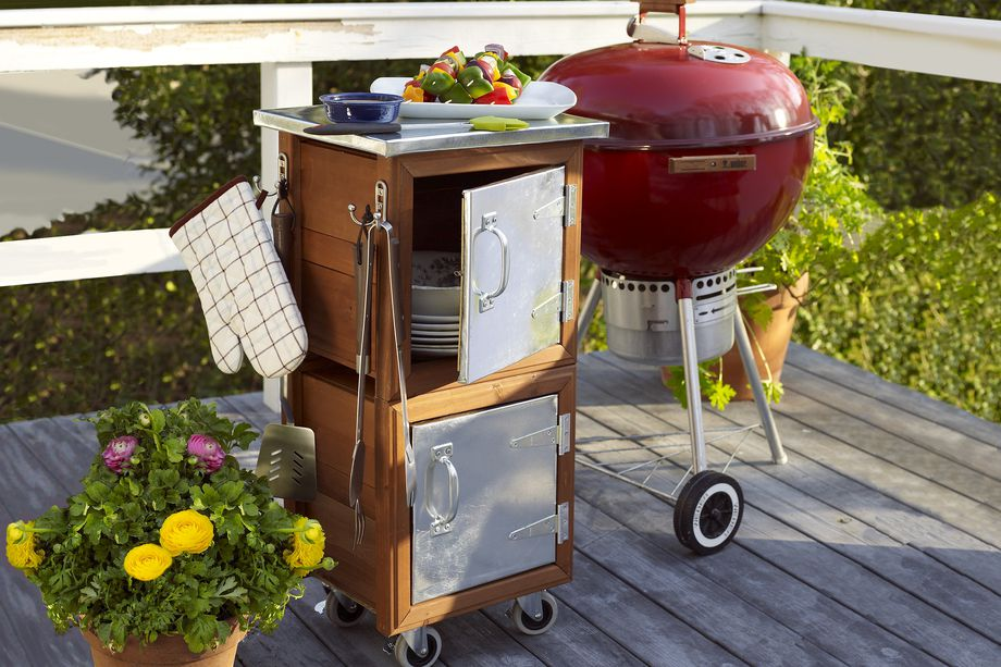 How to build a Grilling Station.