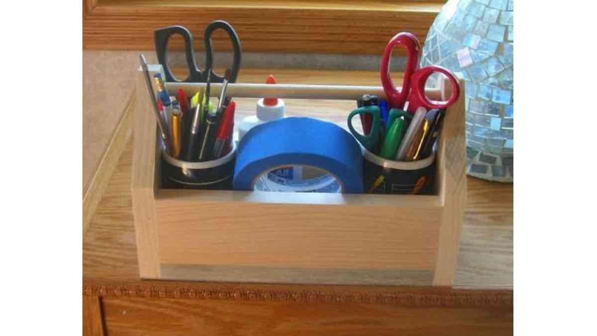 Easy To Make Tool Caddy Box