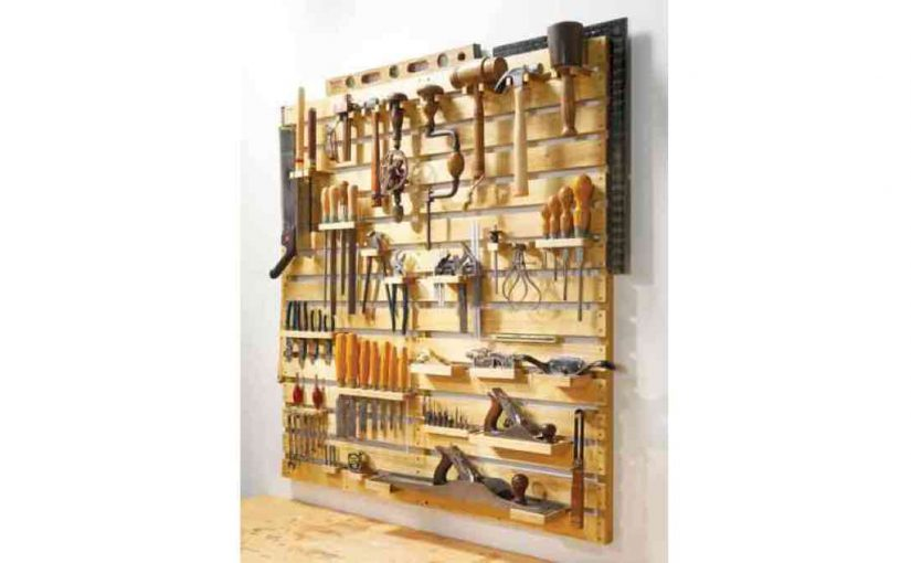 Adaptable Tool Rack