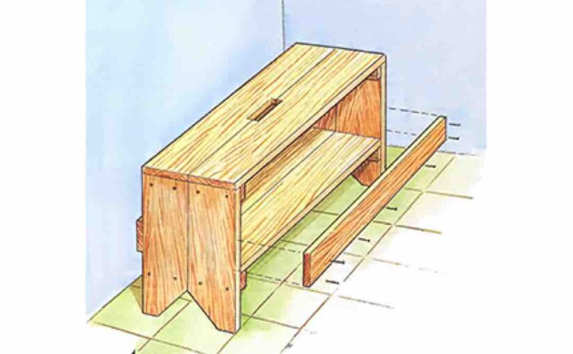 Easy to Build Portable Workbench