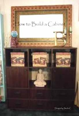 Build a Cabinet using free plans.