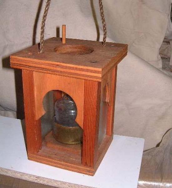 Free plans to build this Small Lantern.