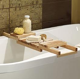 Follow along and build a Bathtub Caddy.