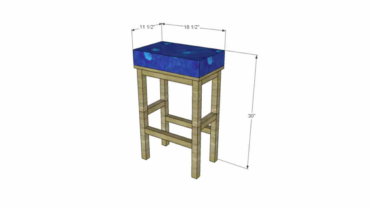 bar stools,kitchen stools,furniture,free woodworking plans,projects,diy